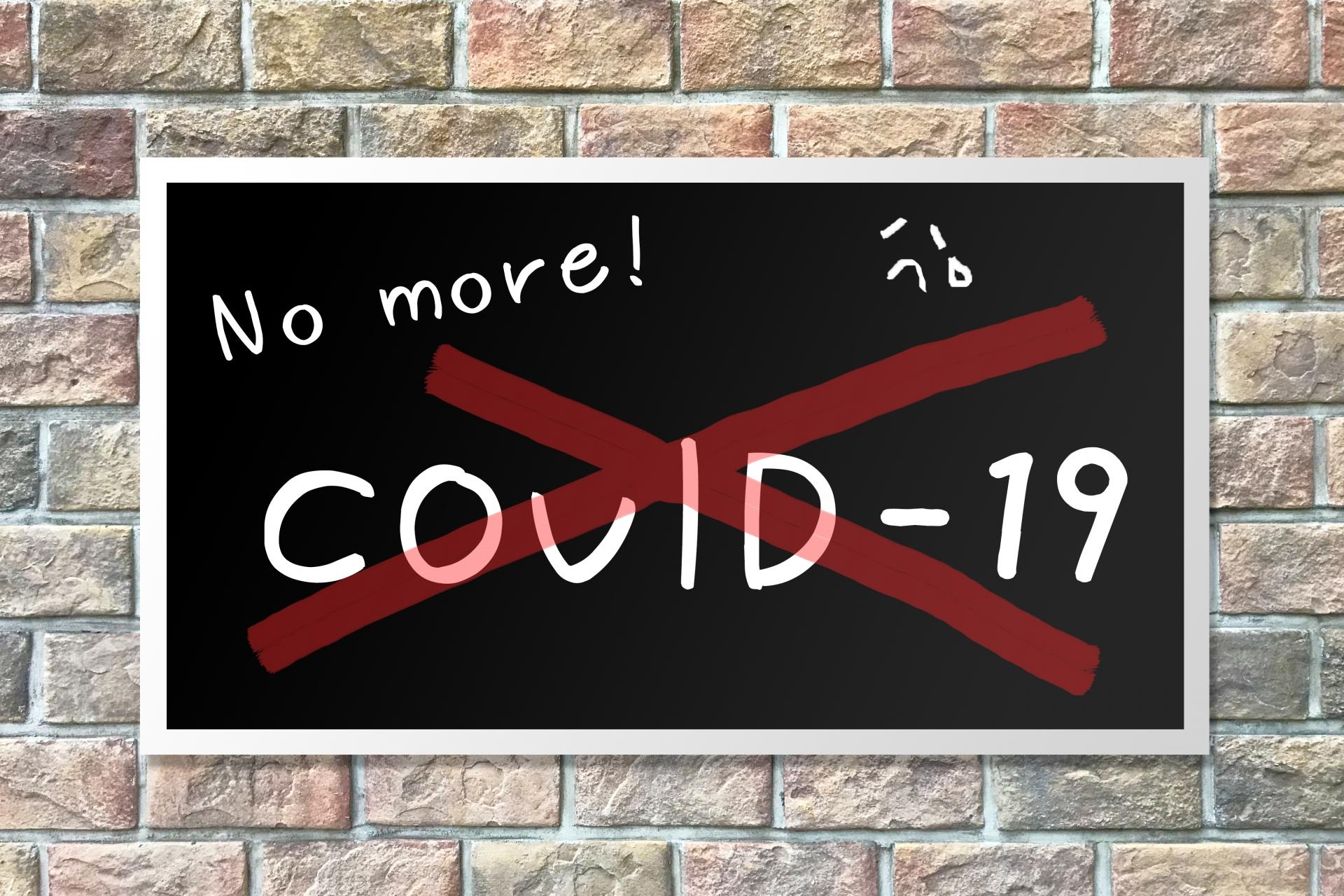 No more!COVID-19